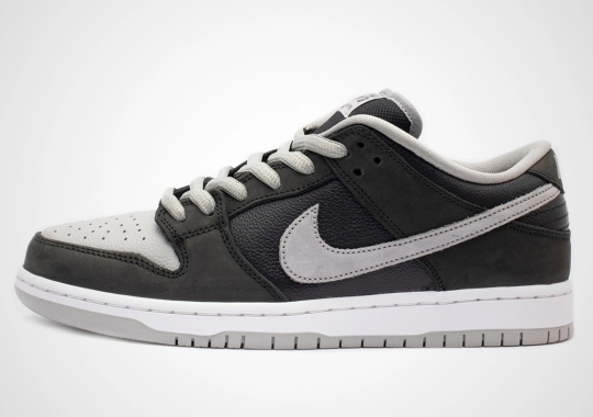 """Closer Look At The Nike SB Dunk Low J-Pack """"Shadow"""""""