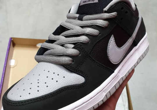 "The Nike SB Dunk Low J-Pack Series Continues With A ""Shadow"" Tribute"