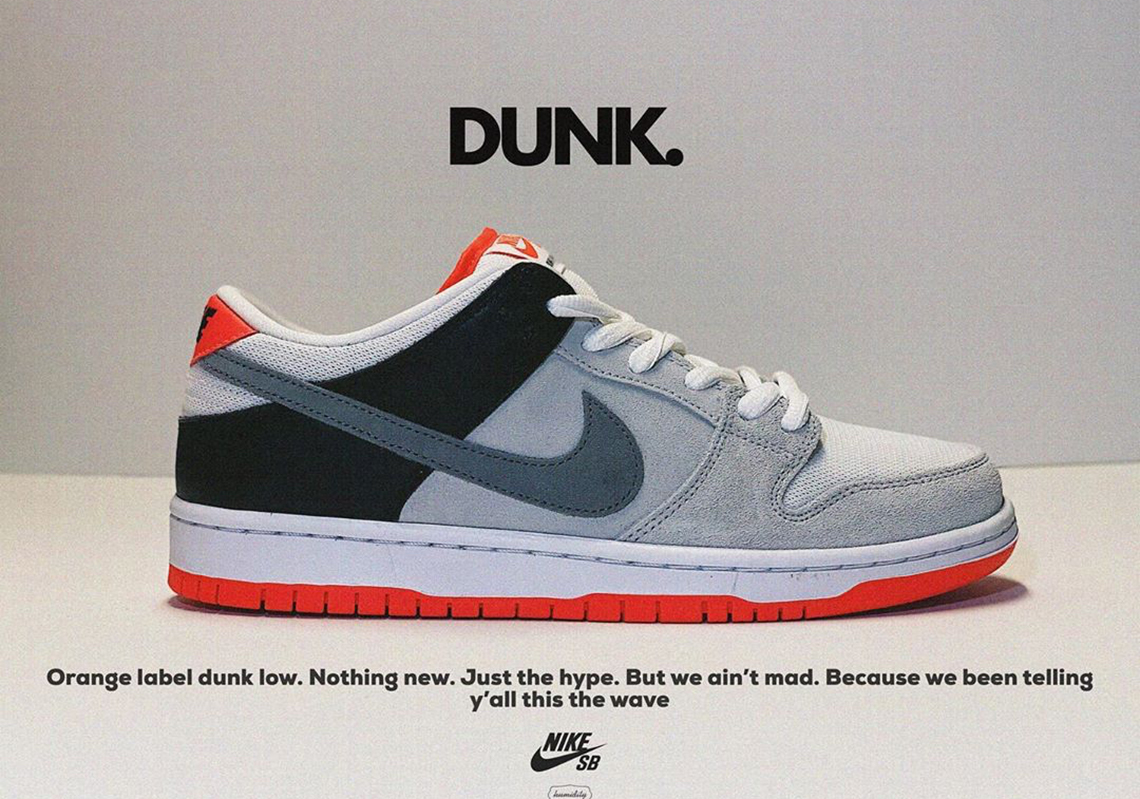 Nike SB Dunk Low Infrared CD2563-004 Release Info | SneakerNews.com
