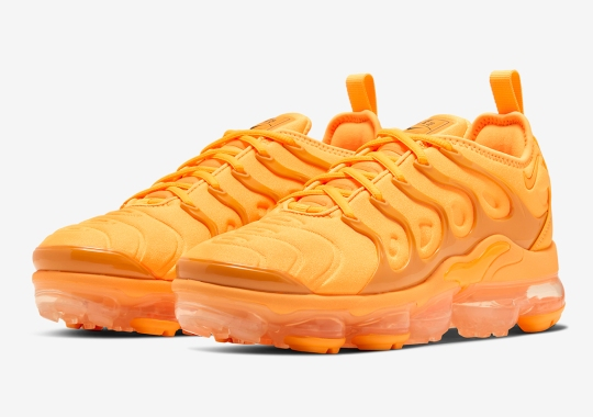 The Nike Vapormax Plus Goes Full Orange For Spring 2020