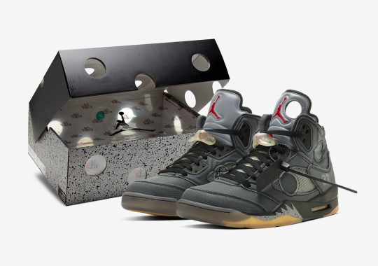 Official Images Of The Off-White x Air Jordan 5