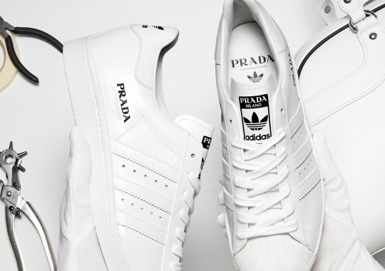 Prada And adidas To Release Three Superstar Colorways In March 2020