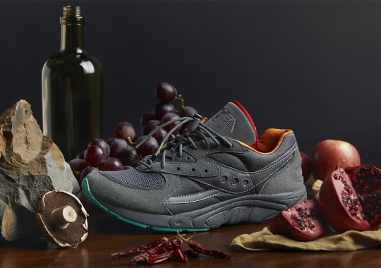 Raised By Wolves Links Up With Saucony For An AYA Collaboration With Hidden Stash Pocket