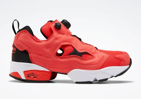 The Reebok Instapump Fury Arrives In A Sporty Crimson Colorway