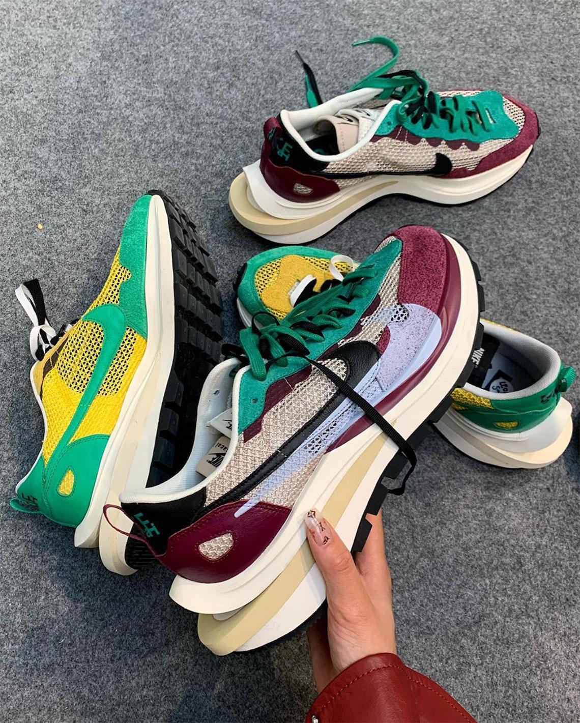 sacai Nike Vaporwaffle Fall 2020