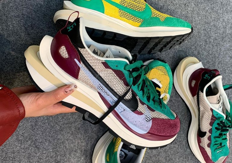 sacai And Nike Further Blend Modern And Retro With The Vaporwaffle