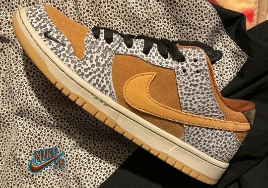 """The Nike SB Dunk Low """"Safari"""" Is Releasing On January 11th"""