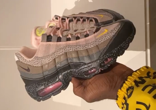 Size? x Nike Air Max 95 Draws Inspiration From 20 Different Air Max 1s