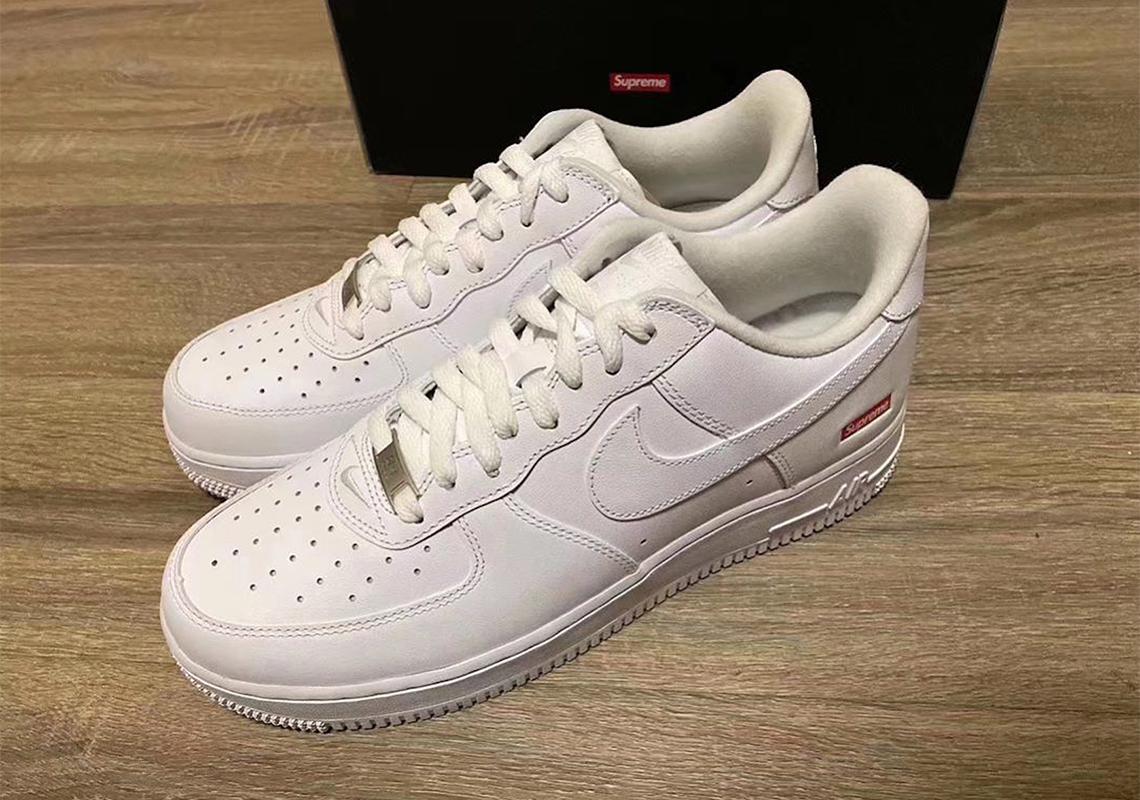En todo el mundo Ideal excepto por  Supreme Air Force 1 Low 2020 Release Info | SneakerNews.com