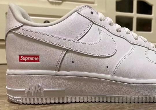 Supreme x Nike Air Force 1 Low Releasing In SS20 Season