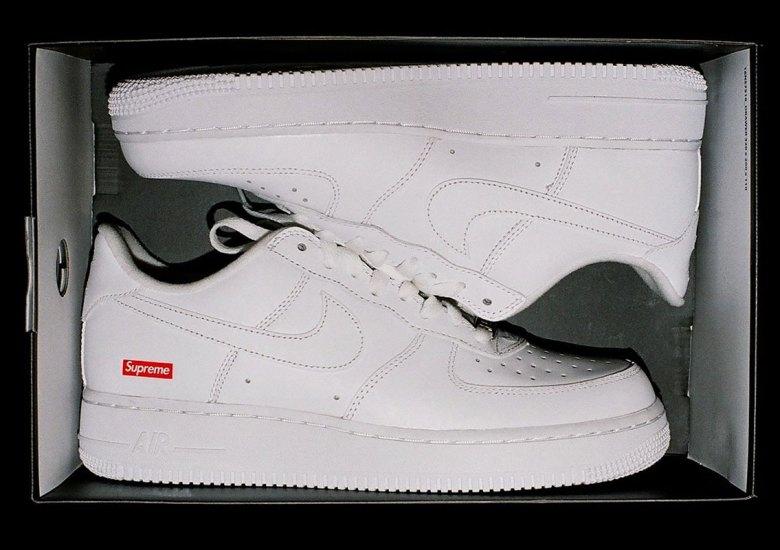 estilo limitado encontrar el precio más bajo nuevas imágenes de Supreme Air Force 1 Low 2020 Release Info | SneakerNews.com