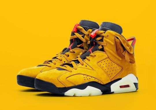 "Updated: The Travis Scott x Air Jordan 6 ""Yellow"" Is Not Releasing In March"