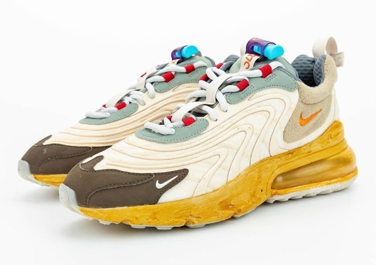 Travis Scott's Nike Air Max 270 React, His First Nike Air Max Collaboration, To Release In March