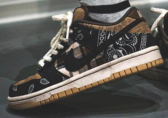 Travis Scott x Nike SB Dunk Low Releasing On February 29th