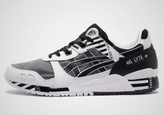"ASICS GEL-Lyte III ""Barcode"" Set For A March Debut"