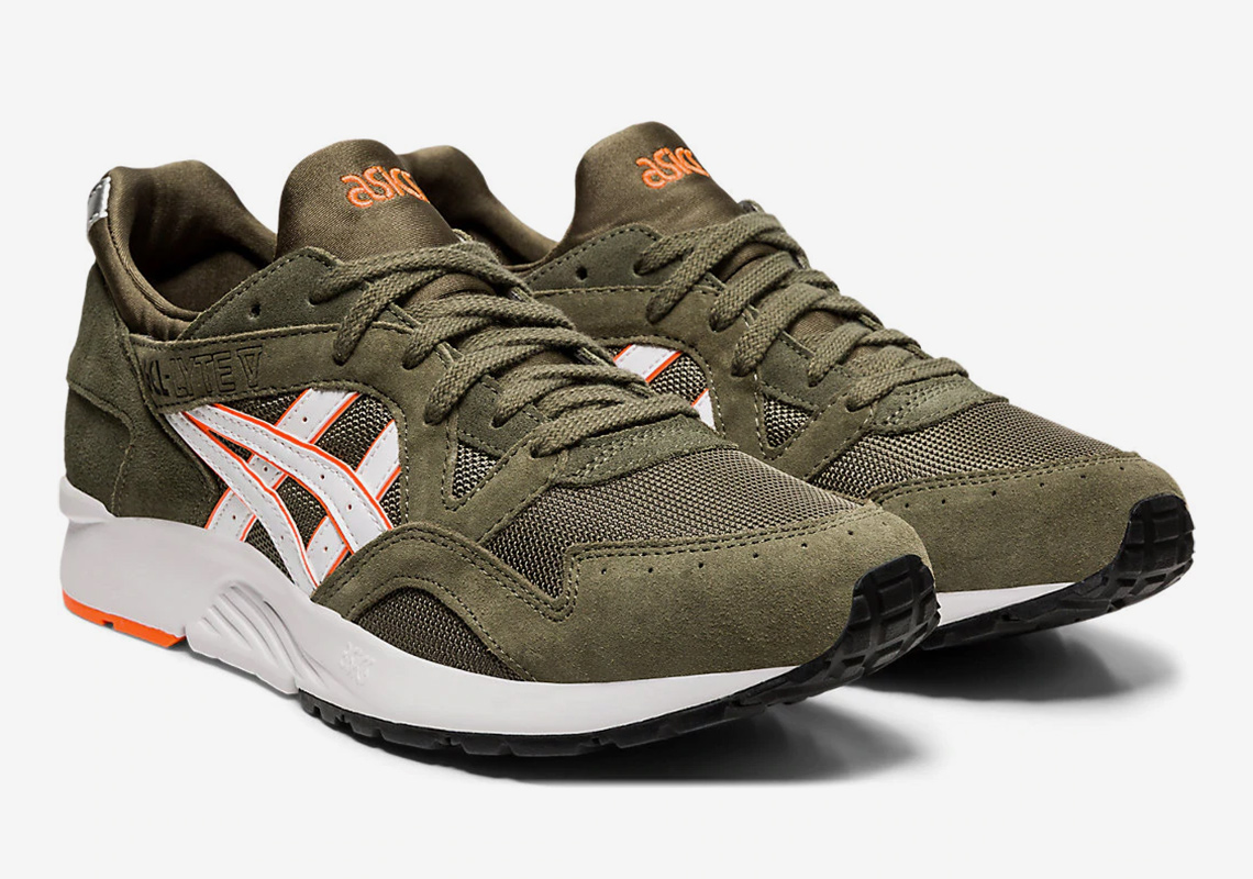 ASICS GEL Lyte V 5 Mantle Green Release Info | SneakerNews.com