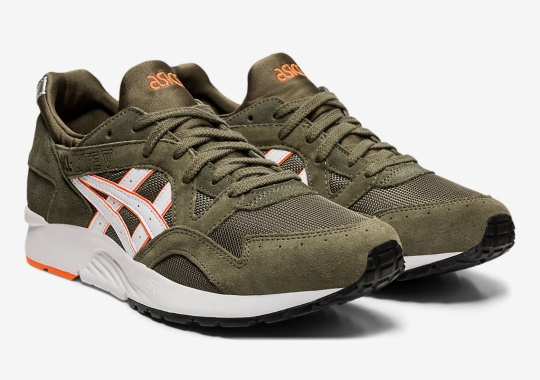 Familiar Flight Jacket Colors Emerge On The ASICS GEL-Lyte V