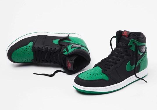 "The Air Jordan 1 Retro High OG ""Pine Green"" Releases Tomorrow"