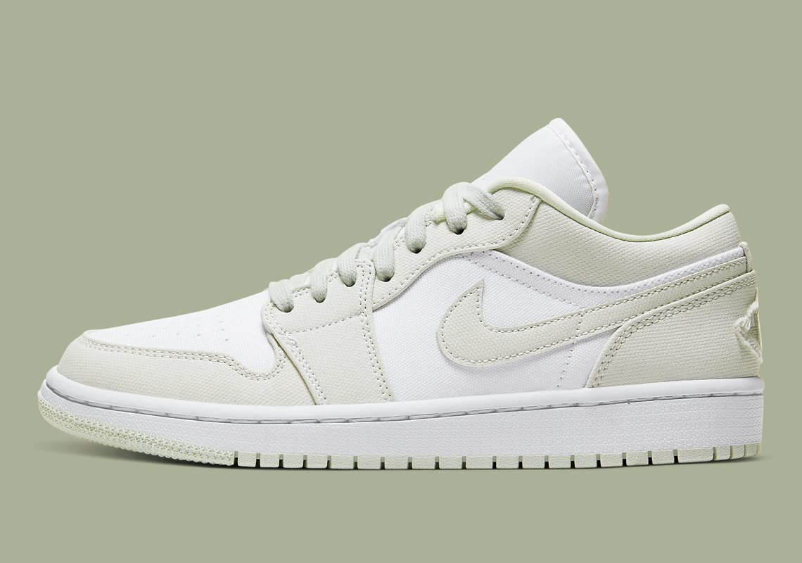 Air Jordan 1 Low Spruce Aura CW1381-003 | SneakerNews.com