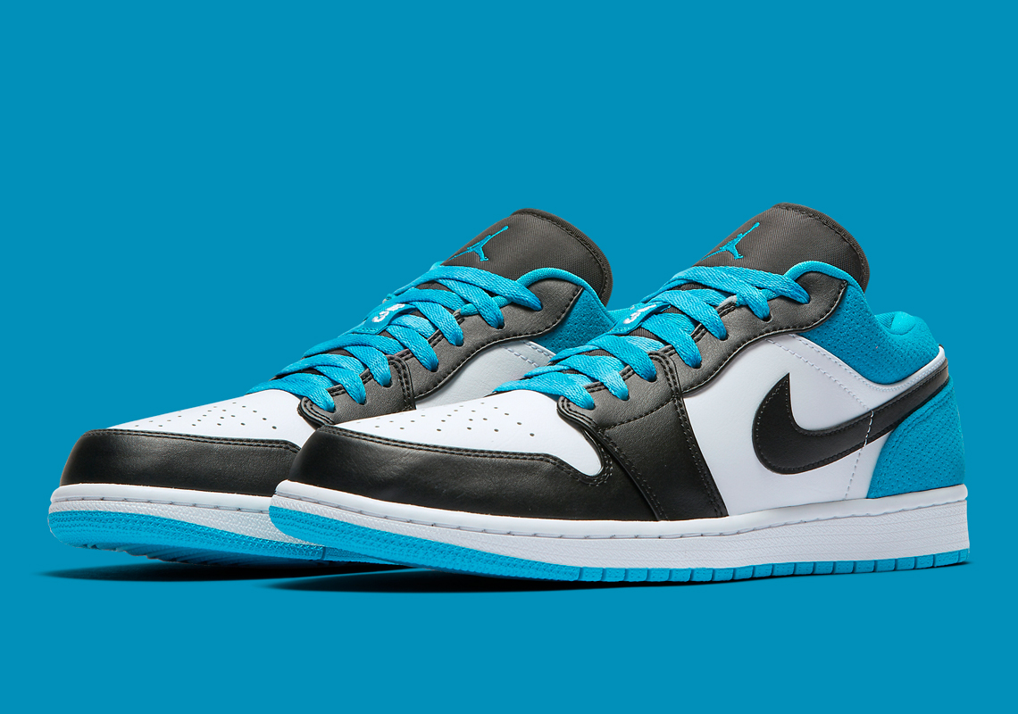 "Air Jordan 1 Low SE ""Laser Blue"" Dropping Soon: Official Images"