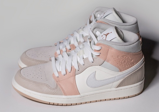 """One Block Down To Launch The Air Jordan 1 Mid """"Milan"""" Ahead Of Global Release"""