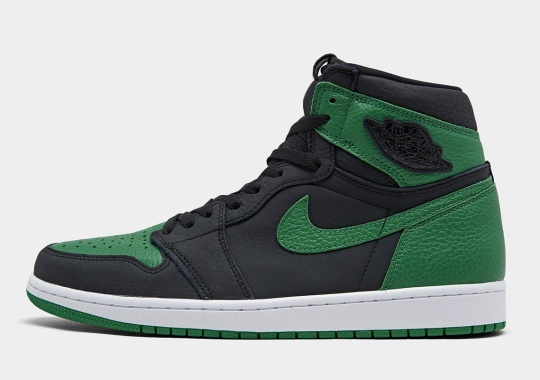 "Where To Buy The Air Jordan 1 Retro High OG ""Pine Green"""