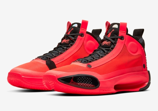 """Where To Buy The Air Jordan 34 """"Infrared 23"""""""