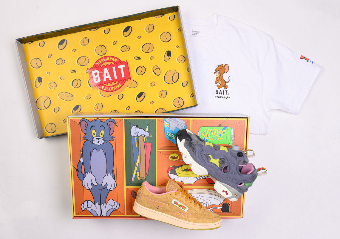 BAIT Exclusive Reebok Tom & Jerry Collection | SneakerNews.com