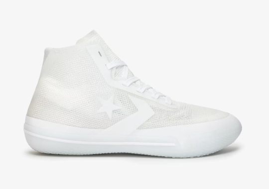 The Converse All Star Pro BB Goes Triple White For All-Star