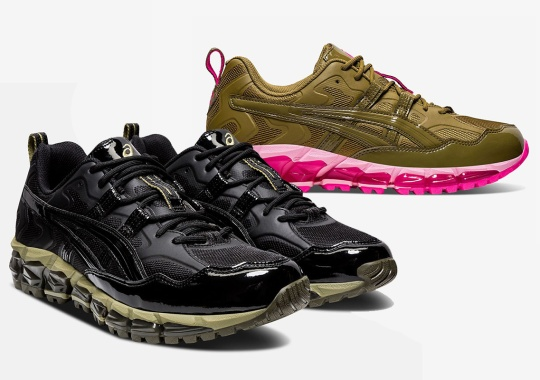 GmbH Further Reveals Upcoming ASICS GEL-Nandi 360 In Two Colorways