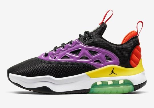 The Women's Jordan Max 200 Utilizes Multi-Colored Accents