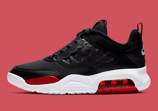 "The Jordan Air Max 200 Gets The Classic ""Bred"" Styling"