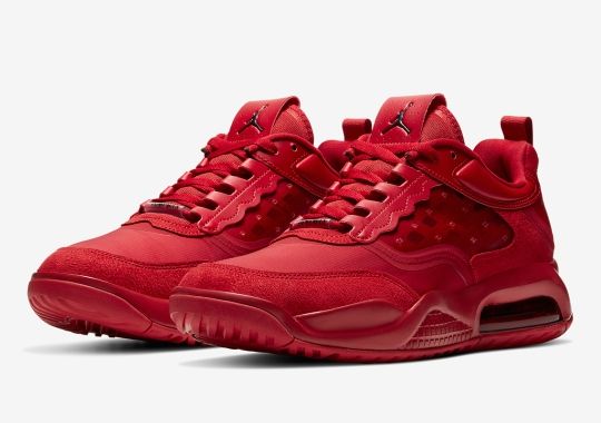 The Jordan Max 200 Goes Full Raging Bull Red