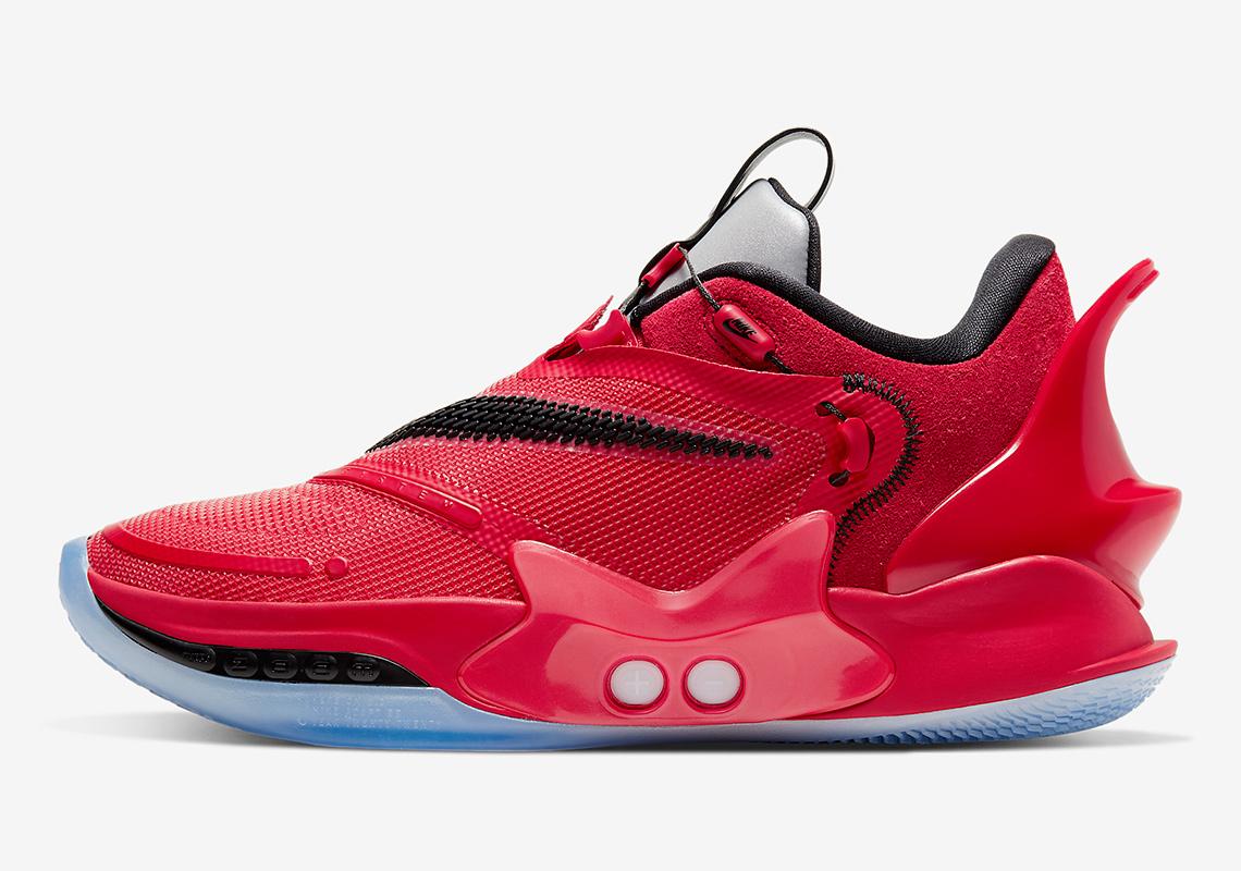 Nike Adapt Bb 2 0 Red Chicago Bq5397 900 Sneakernews Com