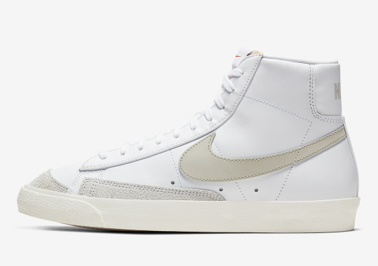 "The Nike Blazer Mid '77 ""Light Bone"" Adds To The Vintage Look"