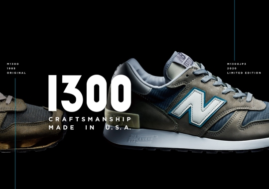 New Balance Follows Five Year Tradition By Bringing Back The 1300JP