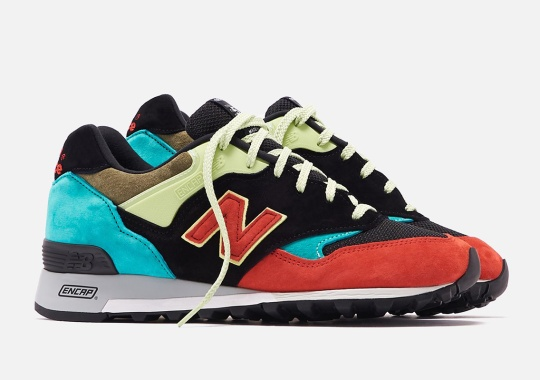 The New Balance 577 Made In UK Stands Out With Pops Of Color