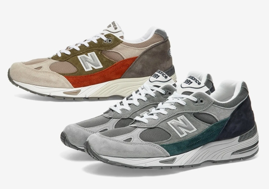 "New Balance Adds A Pop Of Color To The 991 With Its ""Nu Block"" Duo"