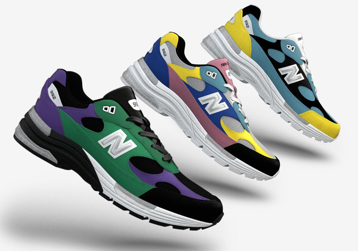 New Balance 992 NB1 Customization Release Info | SneakerNews.com