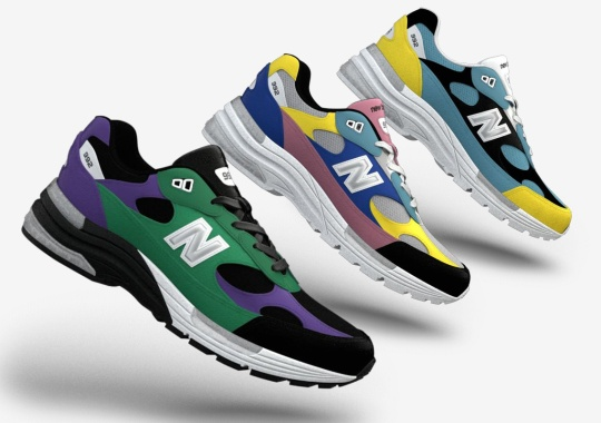 You Can Now Make Your Own New Balance 992 Colorway