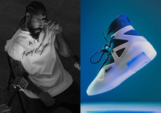 """Where To Buy The Nike Air Fear Of God 1 """"The Question"""""""