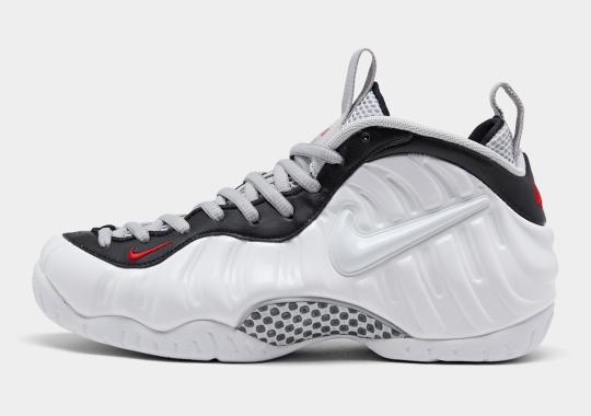 Where To Buy The Nike Air Foamposite Pro White/Black/Varsity Red