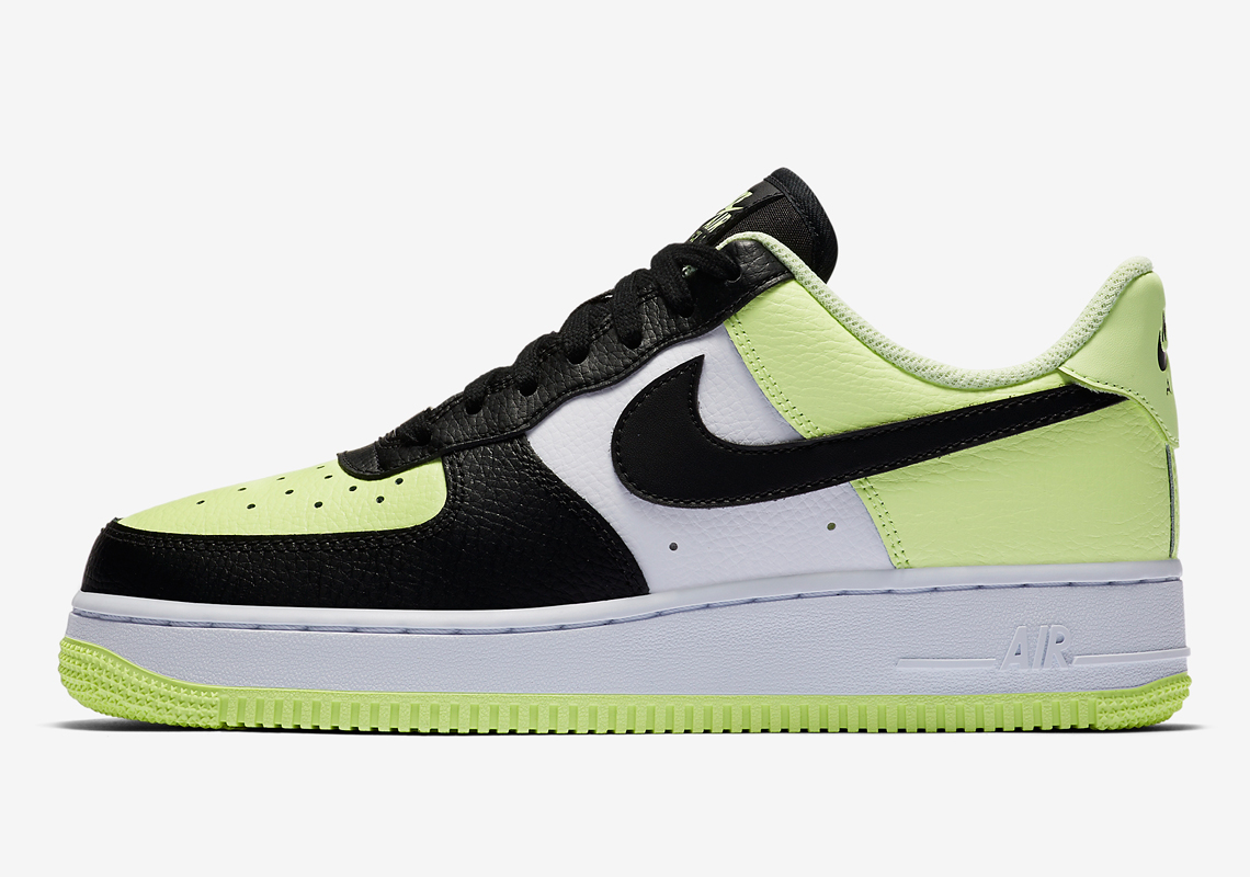 air force 1 femme neon