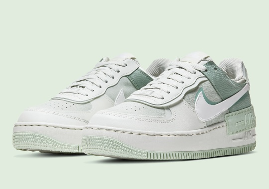 The Nike Air Force 1 Shadow Sprouts In A Spruce Aura Green