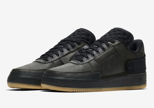 The Nike Air Force 1 Type Gets A Rugged Black And Gum Treatment