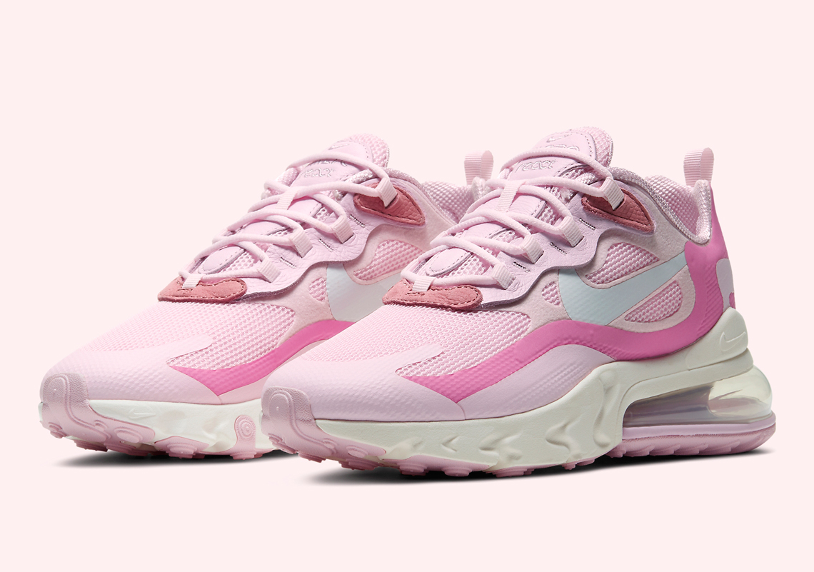 Nike Air Max 270 React Wmns Pink Cz0364 600 Sneakernews Com