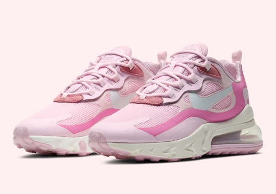 Nike Pushes Pink Onto The Air Max 270 React