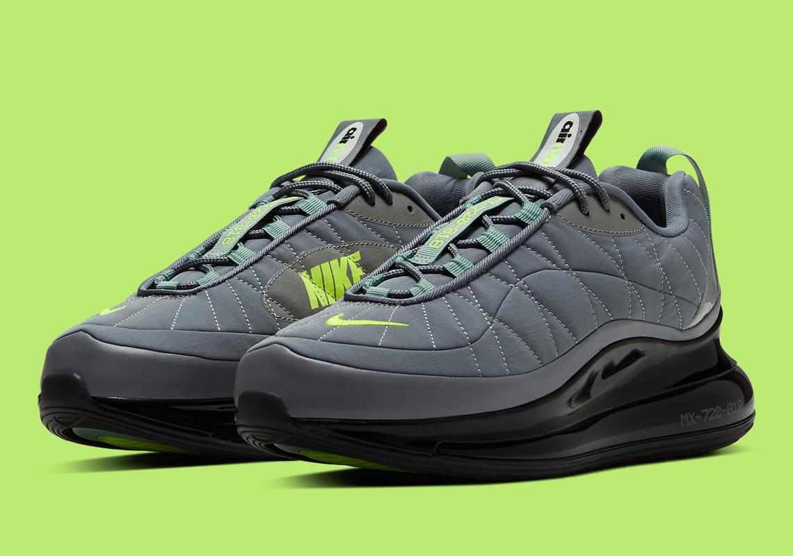 Nike Air Max 720 818 Neon Grey Cw7475 001 Sneakernews Com