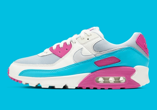 The Nike Air Max 90 Continues To Ooze Vintage Vibes With Neon Colorways