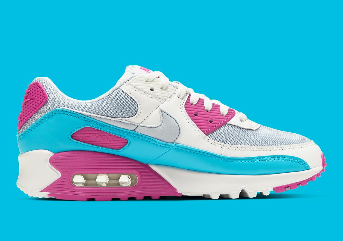 air max 90 neonato blu
